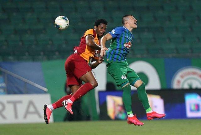 Çaykur Rizespor - Galatasaray maçı muhtemel 11 belli oldu