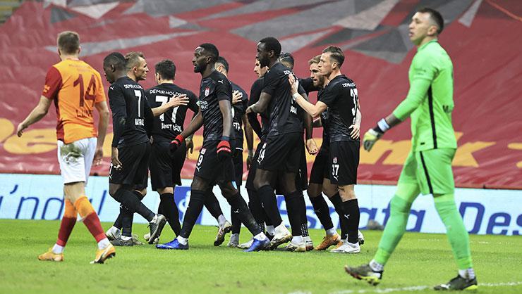 Galatasaray Sivasspor maçının özeti ve golleri