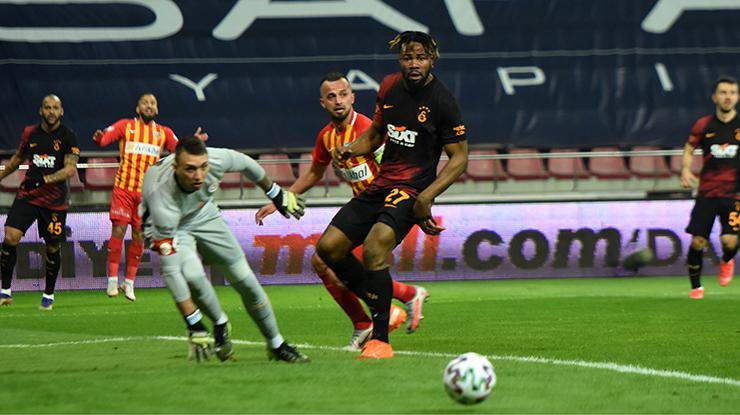 Kayserispor Galatasaray maçı geniş özet izle