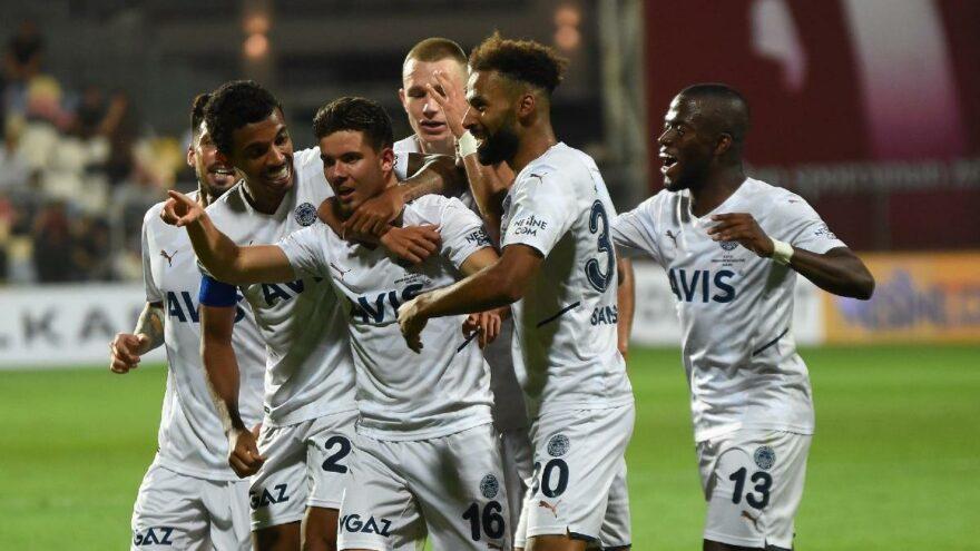 Altay 0-2 Fenerbahçe maç özeti ve golleri! Altay FB maç özeti izle!