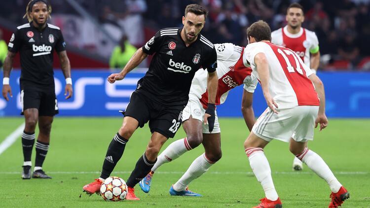 Ajax 2-0 Beşiktaş maç özeti ve goller