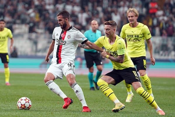 Beşiktaş Dortmund maç özeti izle! BJK Dortmund golleri izle!