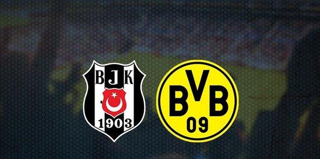 Beşiktaş - Dortmund maçı ne zaman, hangi kanalda, saat kaçta?