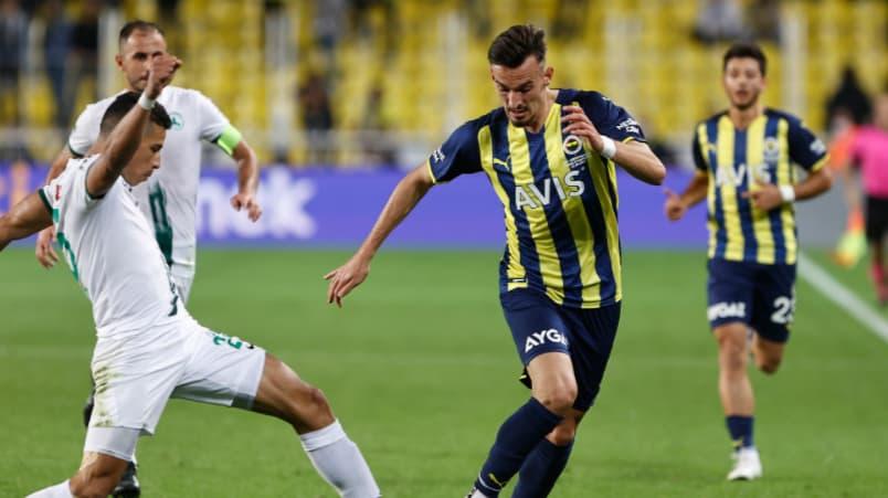 Fenerbahçe 2-1 Giresunspor maç özeti ve golleri