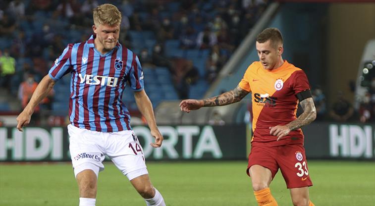 Trabzonspor Galatasaray maç özeti ve golleri izle! TS GS maç özeti ve goller!