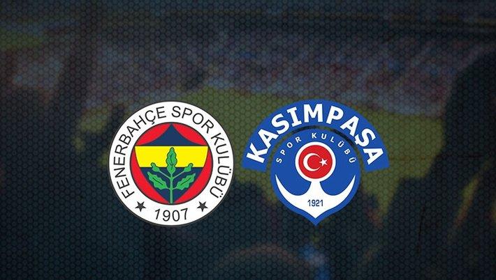Fenerbahçe - Kasımpaşa maçı ne zaman, saat kaçta?