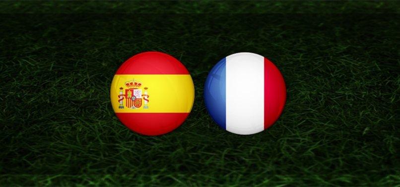 İspanya Fransa Maç özeti ve golleri
